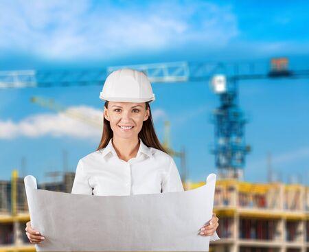 arquitecto: Arquitecto, trabajadores, civil.