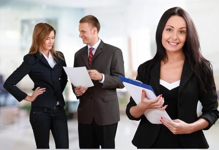 ludzie: Biznes, Ludzie, Pracownik biurowy. Zdjęcie Seryjne