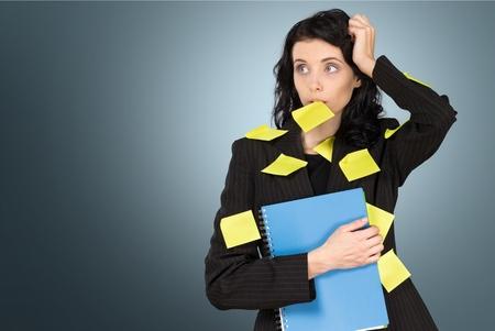 personal organizer: Personal Organizer, Planning, Women. Stock Photo