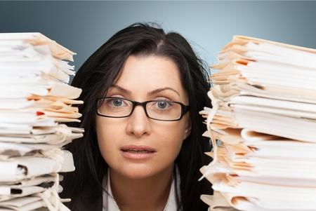 filing document: Bureaucracy, Paperwork, Office.