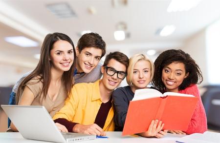 study group: Teens, classroom, class.