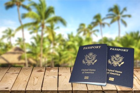 emigration: Passport, USA, Emigration and Immigration.