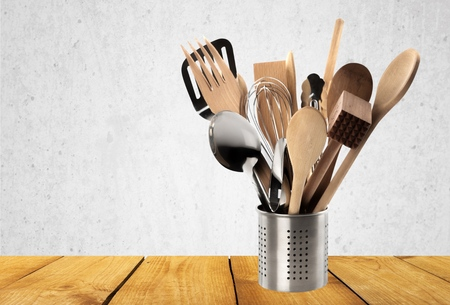 cooking utensil: Kitchen Utensil, Cooking Utensil, Wooden Spoon.
