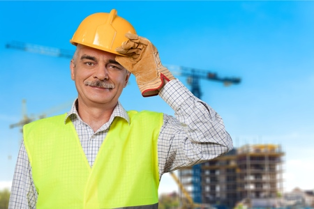 manual worker: Manual Worker, Construction Worker, Construction. Stock Photo