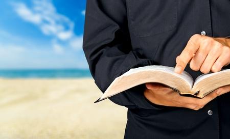 preacher: Bible, Priest, Preacher.