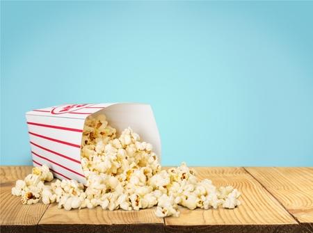ポップコーン、不健康な食事、食品