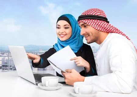 hombre arabe: Árabe. Foto de archivo