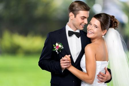 huwelijk: Bruiloft. Stockfoto