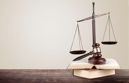 法律、弁護士、書籍。 写真素材