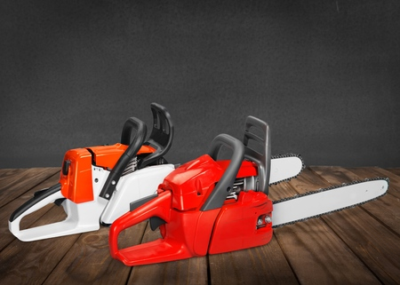work tool: Chainsaw, Work Tool, Gardening Equipment.