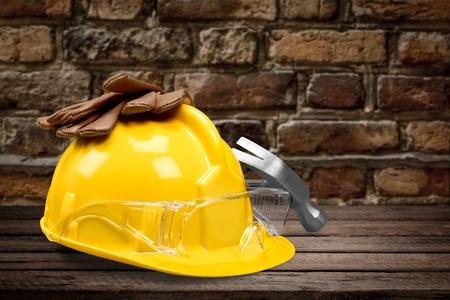class maintenance: Glove, worker, home.