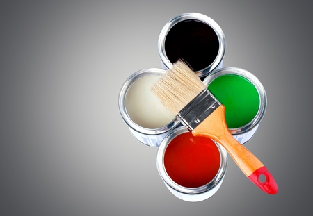 hardware: Paint, Paint Can, Hardware Store.