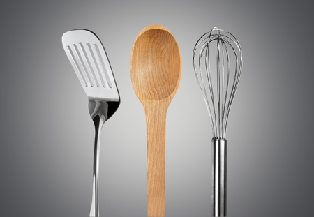 wire whisk: Wooden Spoon, Wire Whisk, Spoon.