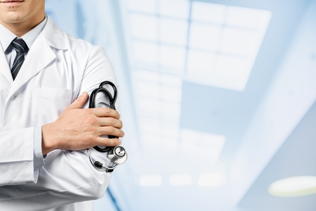 Doctor, patient, medical. Stock Photo - 43210168