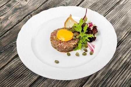 comida gourmet: Gourmet, comida, at�n. Foto de archivo
