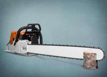 chainsaw: Chainsaw, saw, chain.