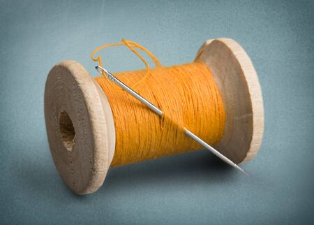needlecraft product: Thread, Sewing, Needle.