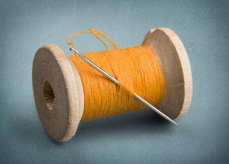 needlecraft product: Thread, Sewing, Needle.