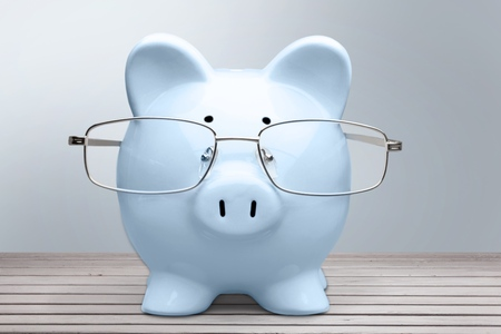 financial advisor: Financial Advisor, Pig, Savings.