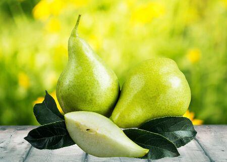 portion: Pear, Bartlett Pear, Portion.