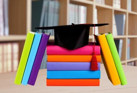 mortar board: Graduation, Mortar Board, Book.