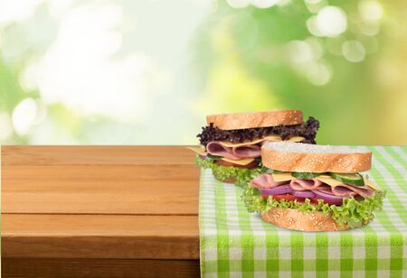 delicatessen: Sandwich, Delicatessen, Ham.