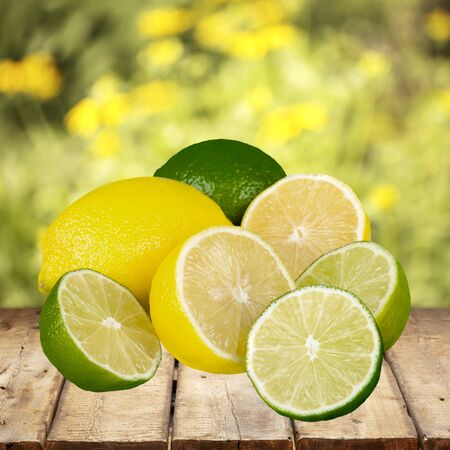 things that go together: Lemon, Lime, Fruit.