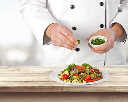service occupation: Chef, Food Service Occupation, Food And Drink Industry.