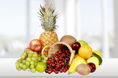 frescura: Fruta, Frescura, Comida sana. Foto de archivo