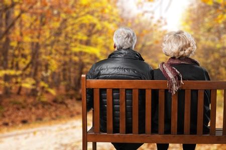 Troisième âge, Retraite, Senior Couple.