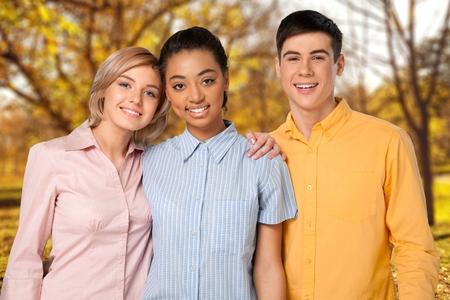 adolescencia: Adolescente, Sólo grupo de adolescentes, Adolescencia.
