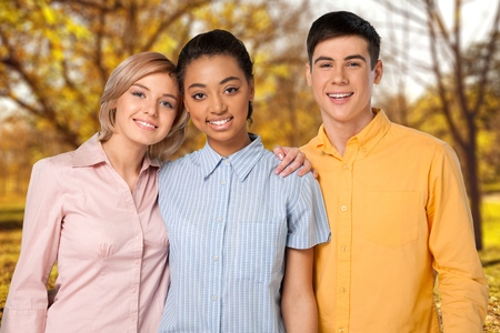 teenagers only: Teenager, Teenagers Only, Adolescence. Stock Photo