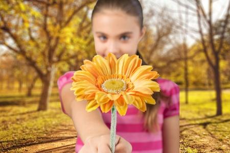 ni�as peque�as: Flor, ni�o, ni�as peque�as.