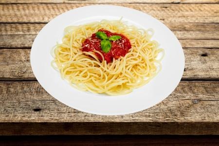 tradition: Mediterranean, spaghetti, tradition. Stock Photo