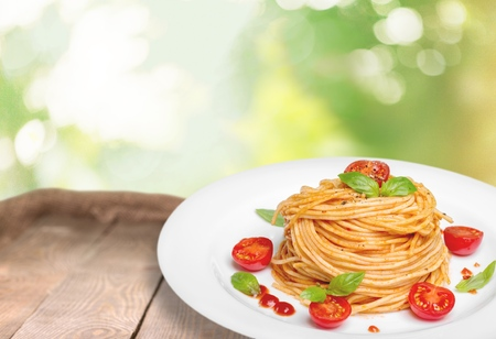 tomato slice: Lasagna, italian pasta, tomato slice.