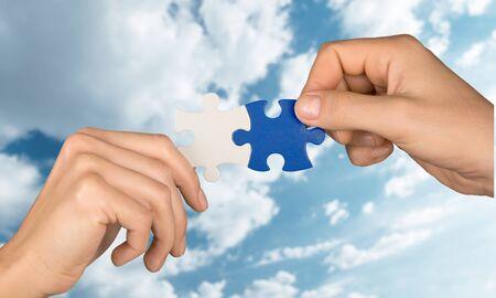 partnership: Partnership, Puzzle, Connection.