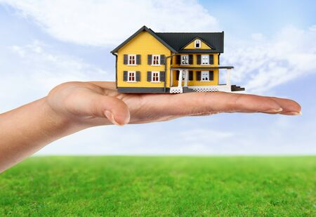 residential structure: House, Residential Structure, Human Hand.