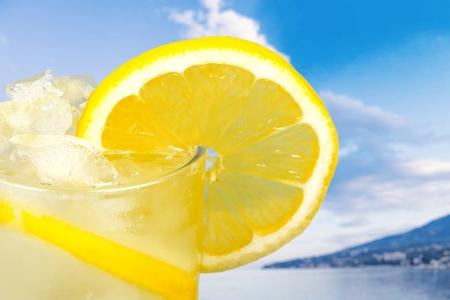 refreshment: Lemonade, Refreshment, Cold Drink.