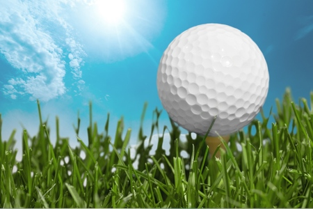 recreational pursuits: Golf, Golf Ball, Tee.