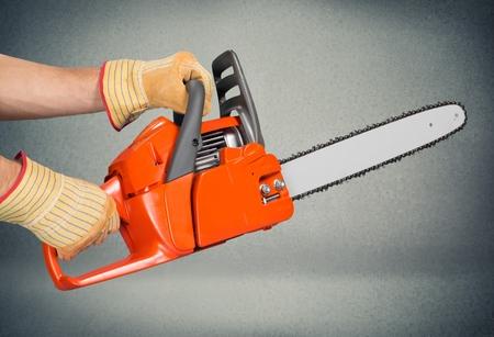 cutting: Chainsaw, Tree, Cutting.
