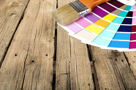 color swatch: Paint, Paintbrush, Color Swatch.