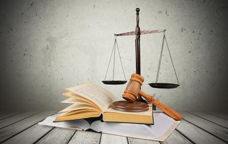 正義、法の本。 写真素材