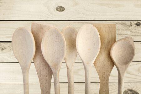 kitchen tool: Wooden Spoon, Kitchen Utensil, Cooking Utensil.