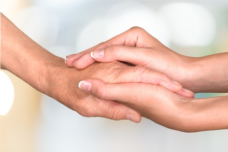 care in the community: Human Hand.