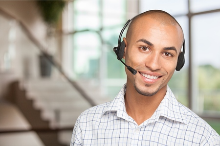 customer service representative: Headset.
