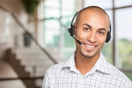 customer service: Headset.