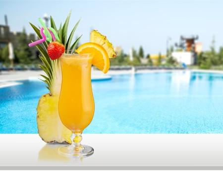 vaso de jugo: Cocktail.