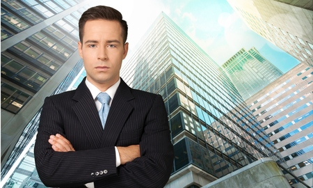 sales manager: Businessman. Stock Photo
