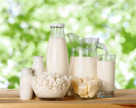 Milk. Reklamní fotografie