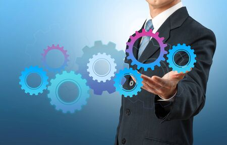 engineering and technology: Success. Stock Photo